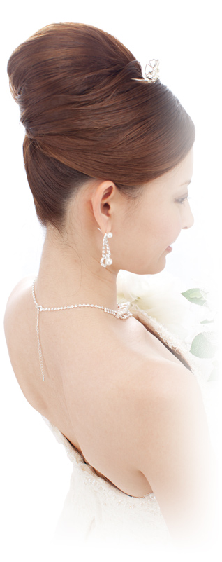 For brides with a backless dress
