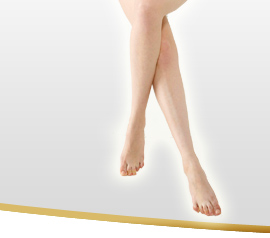 Breathtakingly beautiful! Leg slimming technology exclusively offered at Esthetic Miss Paris! Leg Slimming Intensive Treatment